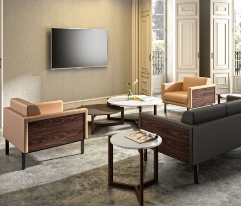 SOFAS INDIVIDUALS MODEL GALLERY ENTAPISSATS EN DIFERENTS COLORS