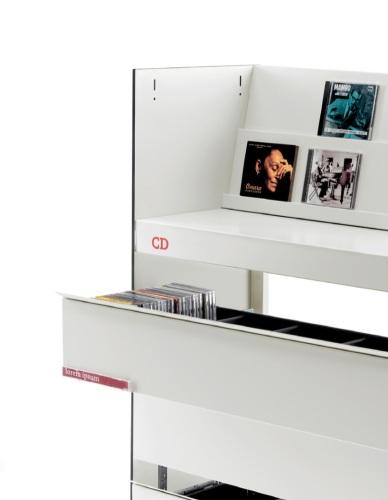CALAIXOS TELESCOPICS DE CONTENIDORS PER A CDS I DVDS SERIE BBL